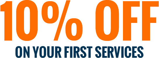 10% OFF On Your First Services